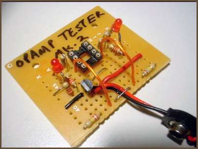 op amp tester how to test a diode in circuit how to test an op amp circuit youtube
