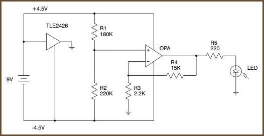 op amp tester how to test a diode in circuit op amp ic lm741 tester circuit diagram